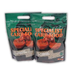 Пелетс Mistral Baits Red Agressor Feed Pellets 4mm 900 гр.