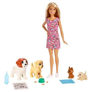 Набор с куклой Barbie Doggy Daycare, FXH08