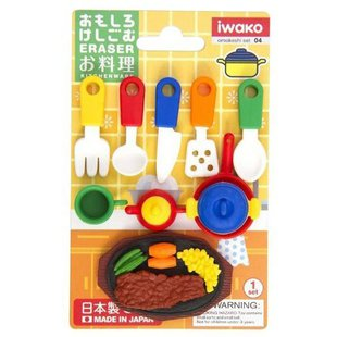 IWAKO Набор ластиков Kitchenware